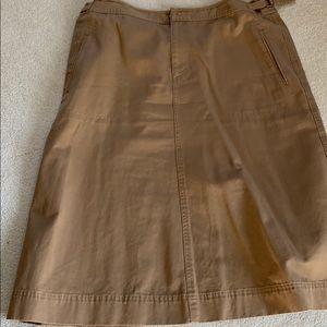 Lauren brown skirt